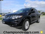 2012 Super Black Nissan Murano SL #57873408