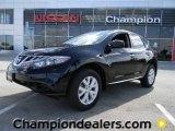 2012 Super Black Nissan Murano S #57873391