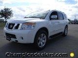 2012 Blizzard White Nissan Armada SL #57873386