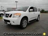 2012 Blizzard White Nissan Armada Platinum #57873385