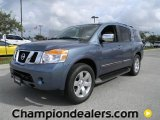2012 Lakeshore Slate Blue Nissan Armada SL #57873383