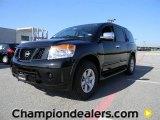 2012 Galaxy Black Nissan Armada SV #57873382