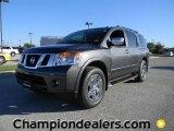 2012 Smoke Gray Nissan Armada Platinum #57873381