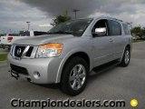 2012 Brilliant Silver Nissan Armada Platinum #57873377
