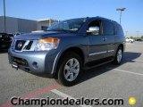2012 Lakeshore Slate Blue Nissan Armada Platinum #57873375