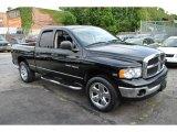 2005 Black Dodge Ram 1500 SLT Quad Cab 4x4 #57877181