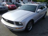 2005 Satin Silver Metallic Ford Mustang V6 Premium Coupe #57877123