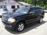 Black Ford Explorer in 2003