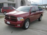 2012 Deep Cherry Red Crystal Pearl Dodge Ram 1500 Express Crew Cab #57875289