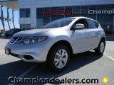 2011 Brilliant Silver Nissan Murano S #57873222