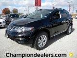 2011 Super Black Nissan Murano SL #57873215