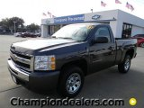 2011 Taupe Gray Metallic Chevrolet Silverado 1500 LS Regular Cab #57873169