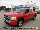 2011 Victory Red Chevrolet Silverado 1500 LS Crew Cab #57873167