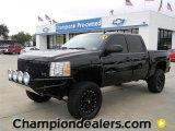 2009 Black Chevrolet Silverado 1500 LT Z71 Crew Cab 4x4 #57873147