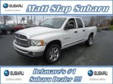 2004 Bright White Dodge Ram 1500 SLT Quad Cab 4x4 #57875209