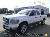 2008 Bright White Dodge Ram 1500 Lone Star Edition Quad Cab #57873131