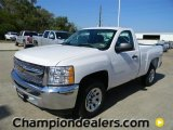 2012 Summit White Chevrolet Silverado 1500 LS Regular Cab #57873116