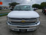 2012 Summit White Chevrolet Silverado 1500 LS Regular Cab #57873115
