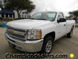 2012 Summit White Chevrolet Silverado 1500 LS Regular Cab #57873113