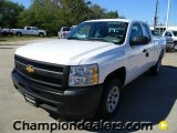 2012 Summit White Chevrolet Silverado 1500 Work Truck Extended Cab #57873111