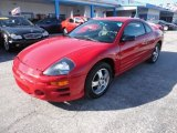 2003 Ultra Red Pearl Mitsubishi Eclipse GS Coupe #57970060