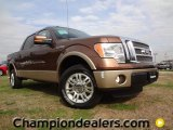 2012 Golden Bronze Metallic Ford F150 Lariat SuperCrew #57874183