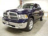 2012 Midnight Blue Pearl Dodge Ram 1500 Big Horn Quad Cab 4x4 #57876206