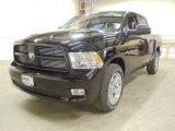 2012 Black Dodge Ram 1500 Sport Crew Cab 4x4 #57876205