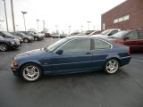 2001 Topaz Blue Metallic BMW 3 Series 330i Coupe #57876204
