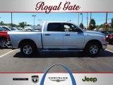 2009 Bright Silver Metallic Dodge Ram 1500 SLT Crew Cab 4x4 #57876178