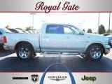 2010 Stone White Dodge Ram 1500 Laramie Crew Cab 4x4 #57876174