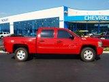 2009 Victory Red Chevrolet Silverado 1500 LT Crew Cab 4x4 #57874140