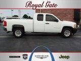 2009 Summit White Chevrolet Silverado 1500 Extended Cab #57876154