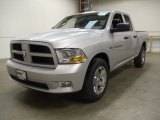 2012 Bright Silver Metallic Dodge Ram 1500 Express Quad Cab 4x4 #57969980