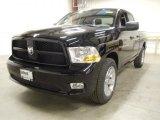 2012 Black Dodge Ram 1500 Express Quad Cab 4x4 #57969979