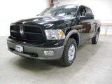 2012 Black Dodge Ram 1500 Big Horn Crew Cab 4x4 #57969976