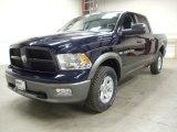 2012 Dodge Ram 1500 Midnight Blue Pearl