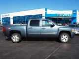 2008 Blue Granite Metallic Chevrolet Silverado 1500 LT Crew Cab 4x4 #57874120