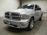 2012 Bright Silver Metallic Dodge Ram 1500 Big Horn Crew Cab 4x4 #57969973