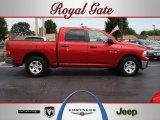 2009 Inferno Red Crystal Pearl Dodge Ram 1500 SLT Crew Cab #57876116
