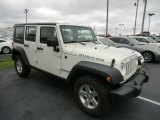 2008 Jeep Wrangler Unlimited Stone White