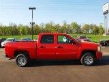 2009 Victory Red Chevrolet Silverado 1500 LT Crew Cab #57874101