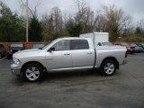 2010 Bright Silver Metallic Dodge Ram 1500 Big Horn Crew Cab 4x4 #57876091