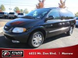 2003 Brilliant Black Pearl Chrysler Town & Country Limited #57969935