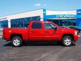 2008 Victory Red Chevrolet Silverado 1500 LT Crew Cab 4x4 #57874039