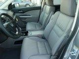 2012 Honda CR-V EX-L 4WD Gray Interior