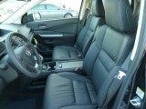 2012 Honda CR-V EX-L 4WD Black Interior