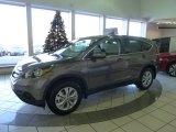2012 Urban Titanium Metallic Honda CR-V EX 4WD #57969889