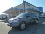 2011 Polished Metal Metallic Honda CR-V EX 4WD #57969882