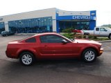 2005 Redfire Metallic Ford Mustang V6 Deluxe Coupe #57874007